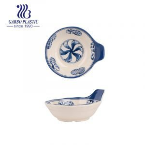 Durable & Nice Sauce Dish/Bowls Plastic Serve Dish with small Handle Health for everyday life