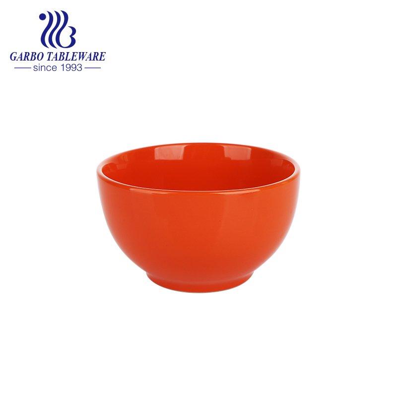 color glazed bowl