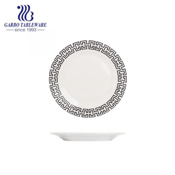 8inch flat ceramic plate