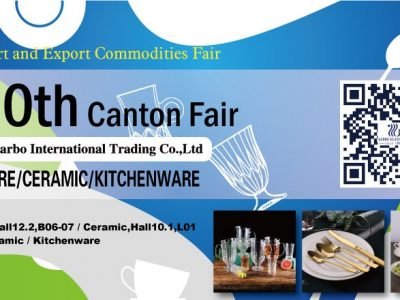 GARBO TABLEWARE IN CANTON FAIR WITH YOUR GLOBAL SHARE