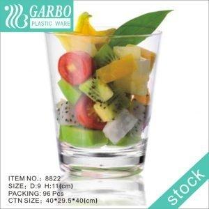 كأس شرب زجاجي من البولي كربونات الشفاف بسعة 16 أوقية لمحبي الويسكي