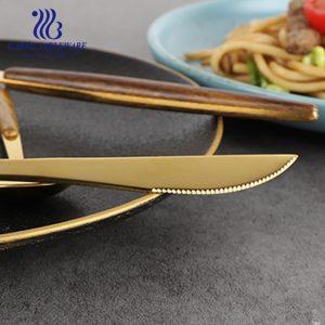 سكين عشاء صغير الحد الأدنى للطلب الكمية 430ss لسطح الطاولة